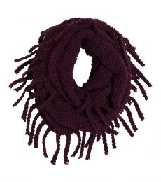 Jane Scarf Womens 2015 (Black Plum)