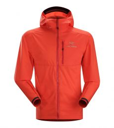 Arc'teryx Squamish Hoody Men mid layer softshell packable light waterproof windproof jacket