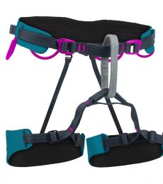 Beal Venus Soft Harness comfortable protection high fall dynamic fit web core sport climbing heavy