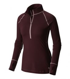 Mountain Hardwear Butterlicious Long Sleeve ½ Zip Womens 2017 rock climbing mountaineering alpine mid layer