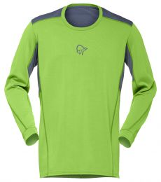 Norrona Falketind Super Wool Shirt Men quick-drying soft polyester merino wool climbing mountaineering alpine base layer