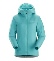 Arc'teryx Atom LT Hoody Women breathable stretch lightweight versatile water rain snow resistance mid layer climbing mountaineer
