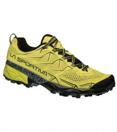 La Sportiva Akyra long distance ultra marathon training comfortable support shock absorbing impact trail running shoe